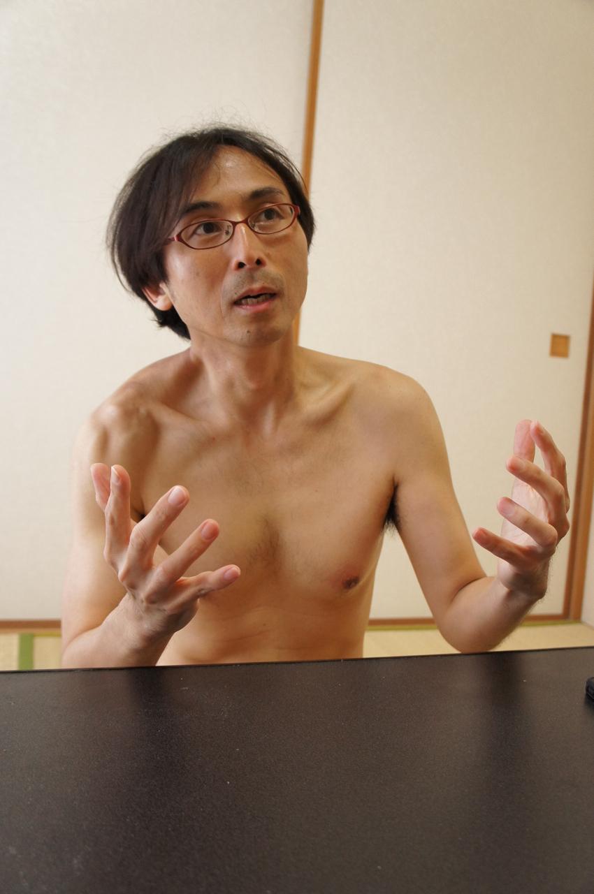 「人権問題には、つい熱くなってしまう。悪いクセです(苦笑)」と中川氏。