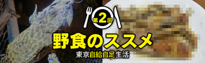 【記事更新】連載『野食のススメ 東京自給自足生活』「第2回:釣竿片手になんでも採ろう! 野食フィッシャーマンの豪華フルコース」