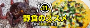 【記事更新】連載『野食のススメ 東京自給自足生活』「第11回:春の具材たっぷり! 海と山の食材を合わせて野食ピザを作ろう」