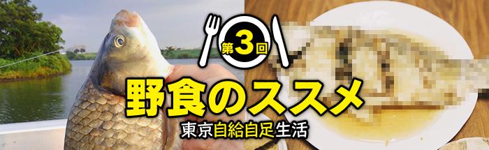 第3回:真夏の野食は川へ行け!! 酷暑の江戸川河川敷で集めた珠玉の食材御膳