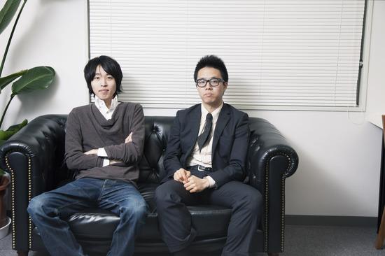 森健志郎さん、中西孝之さん