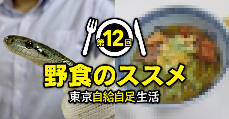 第12回:野食の貴重な肉タンパク!! ヘビを美味しく食べる方法を考えてみた